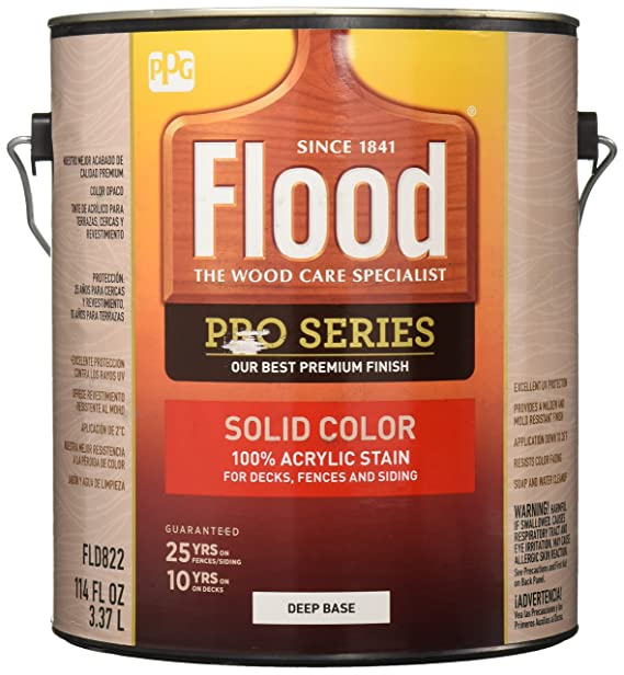 FLOOD/PPG ARCHITECTURAL FIN FLD822-01 Pro Deep Base Stain, 1 gallon - - Amazon.com