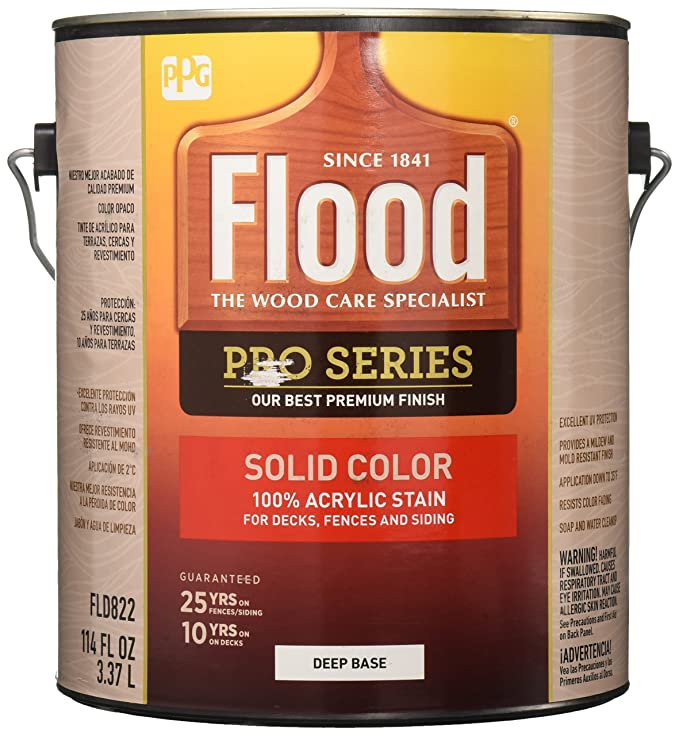 FLOOD PPG ARCHITECTURAL FIN FLD822 01 Pro Deep Base Stain 1 gallon