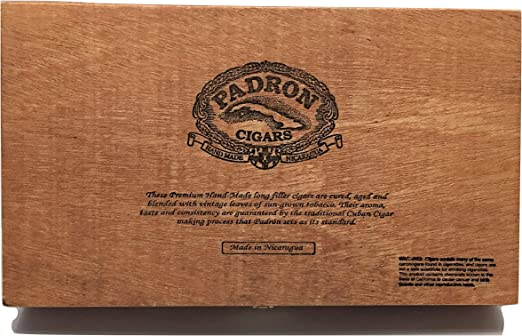Padron Premium - Caja vacía de Madera para Guardar Guitarras ...
