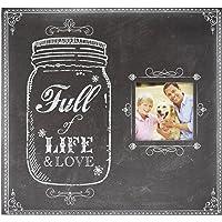 Expressions Collection Full de la vida y el amor recortes ampliable, incluye 10última intervensión de ácidos 30.5x 30.5cm páginas y 2,5x 2,5cubierta frontal imagen apertura, FULL OF LIFE, 30.48 cm x 30.48 cm, 1