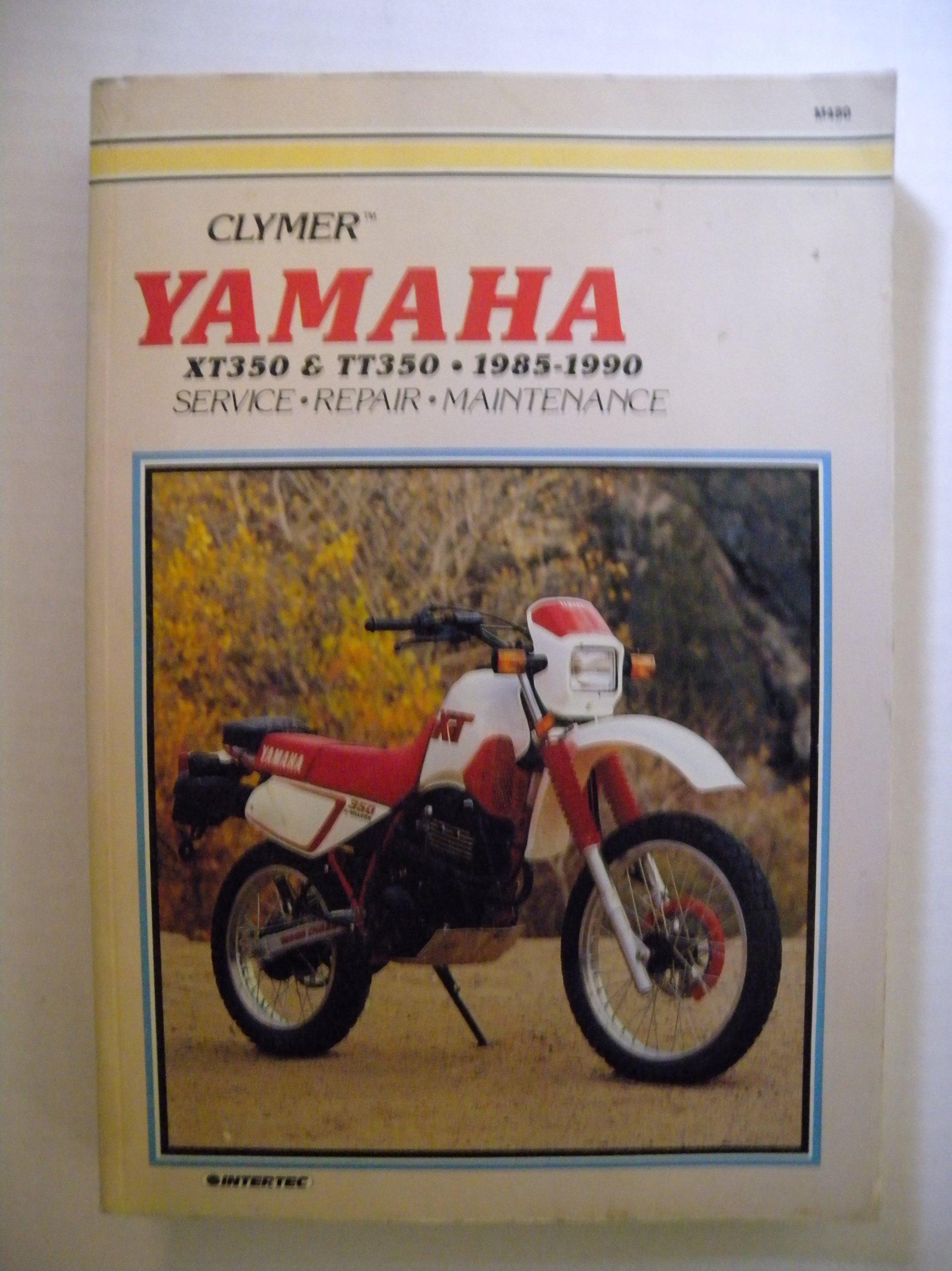 Yamaha Xt350 & Tt350 1985-1990 (Clymer motorcycle repair series)