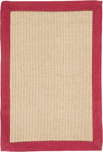 Surya Soho Natural Fiber Hand Woven 100 Natural Jute Tan 2 x 3 Accent Rug