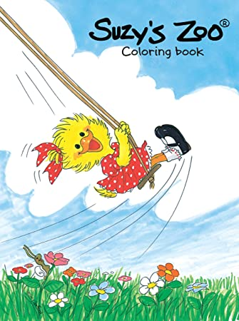 Suzys Zoo Limited Edition Coloring Book