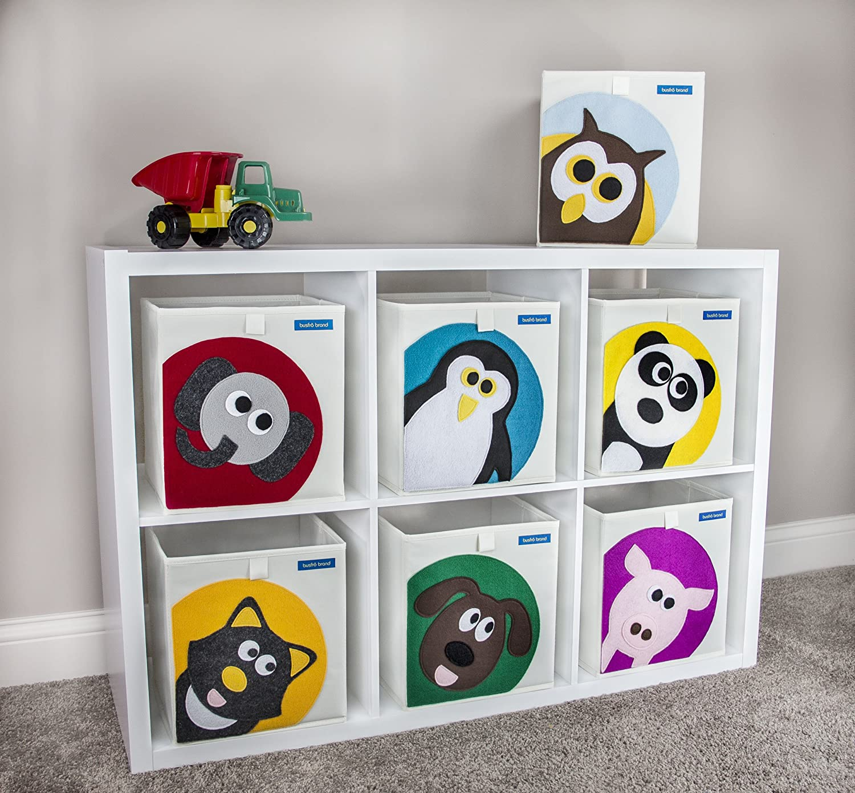 amazoncom foldable cube storage bin box for nursery or kids toys penguin baby