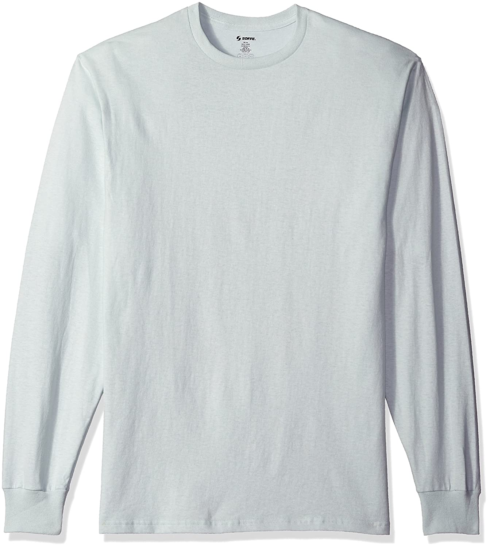 MJ Soffe Men's Long-Sleeve Cotton T-Shirt   Amazon.com