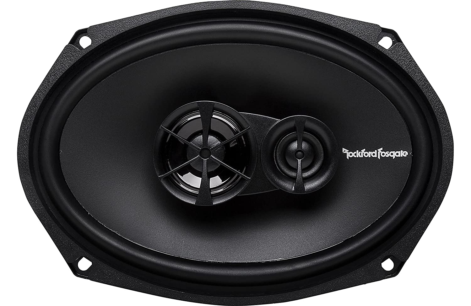 Car Speaker And Amp Combo Of 2x Rockford Fosgate R165x3 Loudspeaker Protection With Soft Start Prime 65 Inch 180 Watt 3 Way Full Range Coaxial Bundle R169x3
