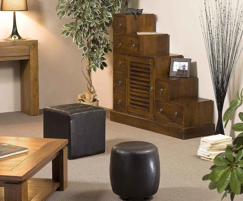 MACABANE Nomades Design 500832 – Mueble Escalera Madera 37 x 105 x 102 cm: Amazon.es: Hogar