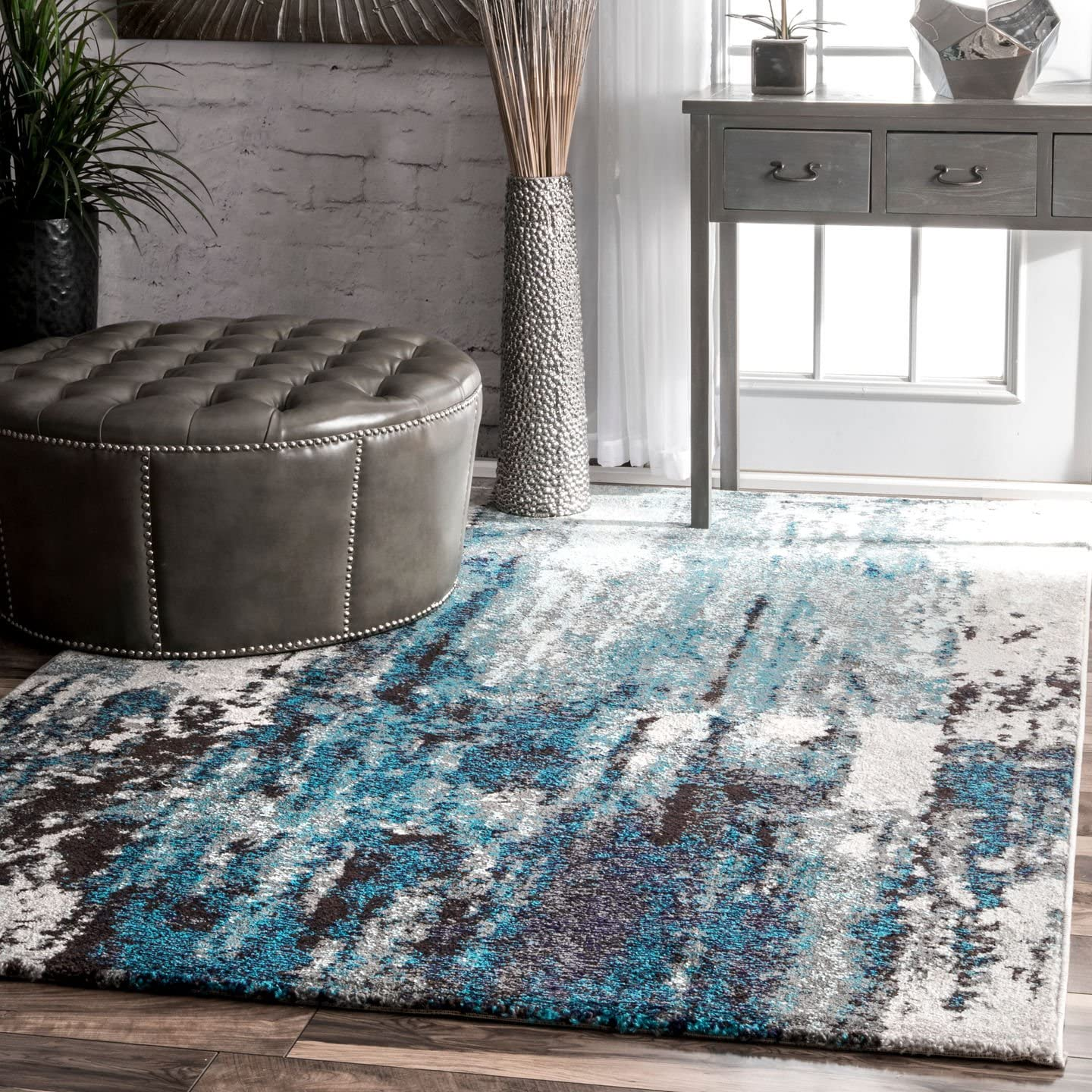nuLOOM Haydee Abstract Area Rug