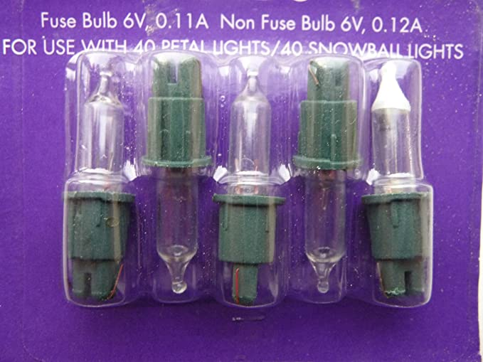 Christmas Tree Lights Fuse Bulb