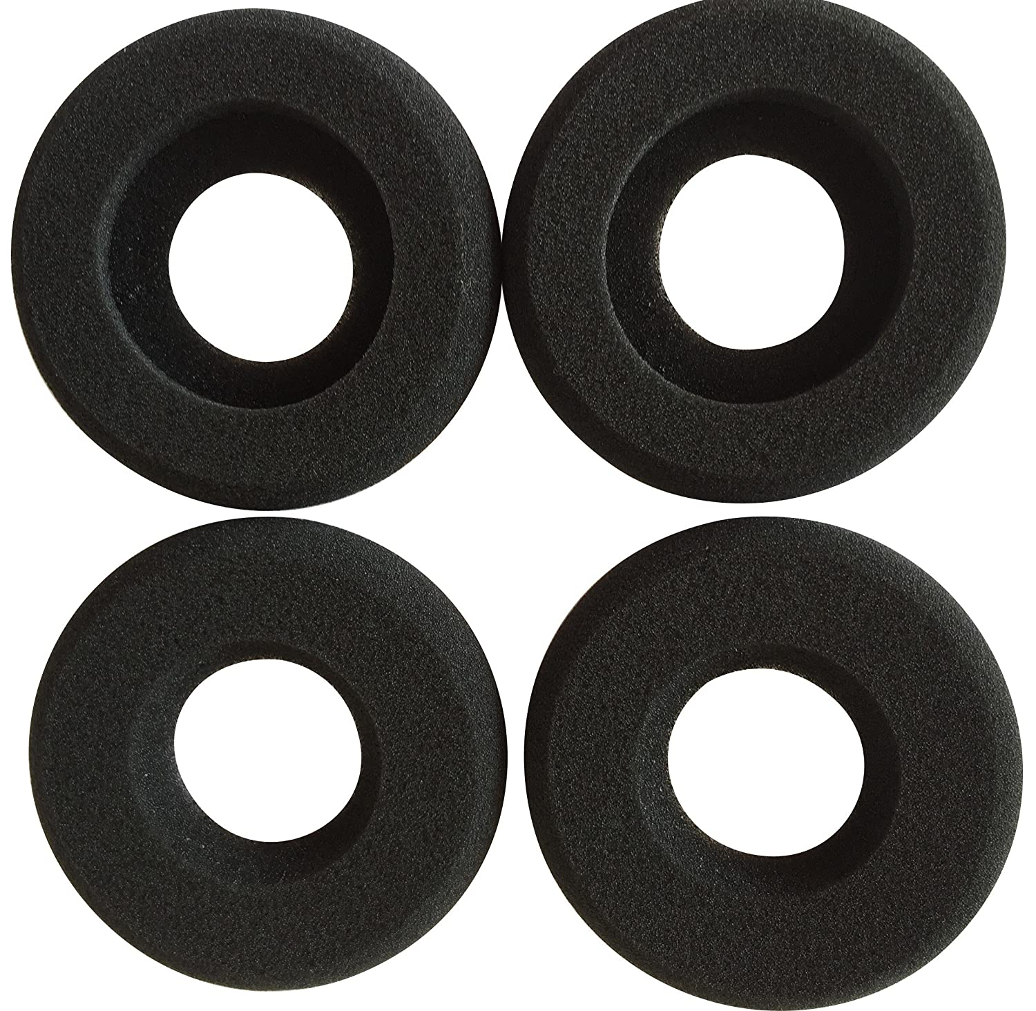 Ear Cushions Foam Doughnut Replacement for Plantronics Supra Plus Encore and Most Standard Size Office Telephone Headsets H251 H251N H261 H261N H351 H351N H361 H361N (10 Pack) VoiceJoy
