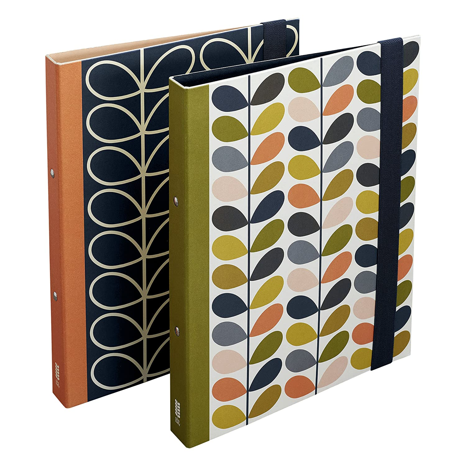 Orla Kiely OK101 Ring Binders Stem (Pack of 2) Wild and Wolf