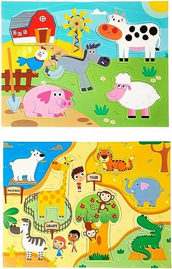 Prince Lionheart Bath Puzzle, Zoo/Farm