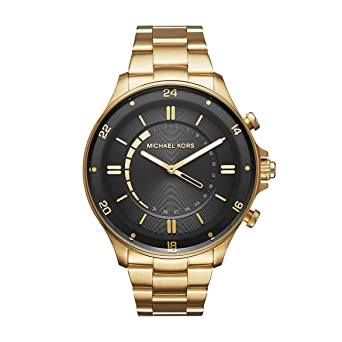 Michael Kors Mens Goldtone Reid Hybrid Watch