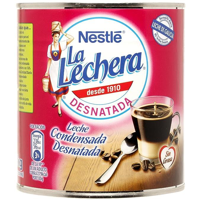 La Lechera Leche Condensada Desnatada - 1040 gr: Amazon.es ...