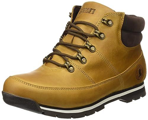 Coronel Tapioca C08-38, Botines para Hombre, (Mostaza/Marrón) 42 EU: Amazon.es: Zapatos y complementos