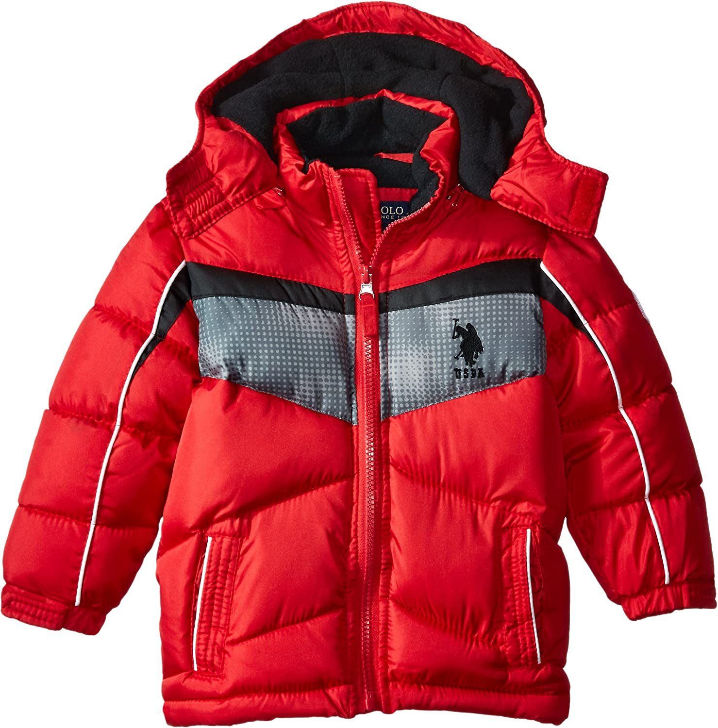 More Styles Available Boys Bubble Jacket U.S Polo Assn