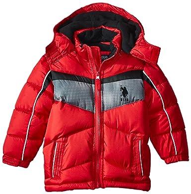 dacde152f US Polo Assn. Boys' Bubble Jacket (More Styles Available)