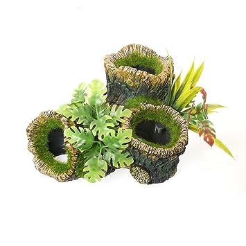 Rosewood - Figura Decorativa para Acuario o pecera, tamaño Grande: Amazon.es: Productos para mascotas