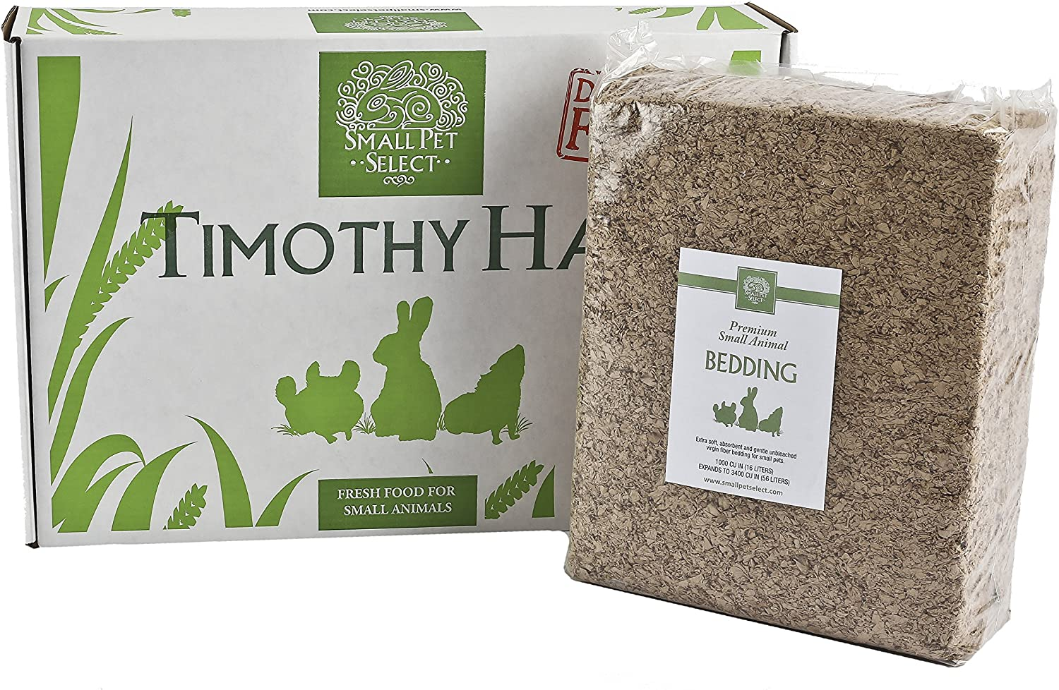 Small Pet Select Timothy Hay and Bedding Combo Pack