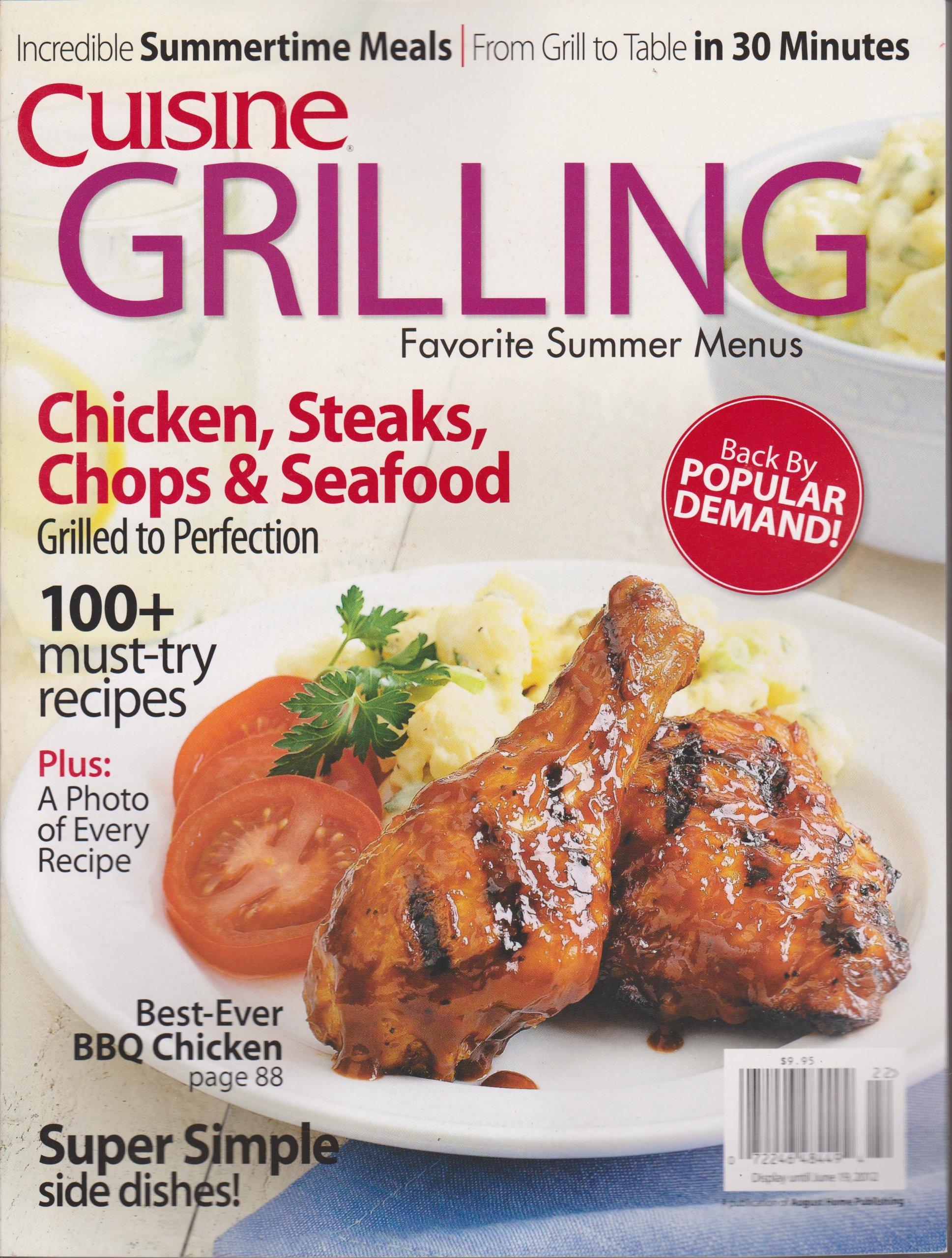 Cuisine Grilling Magazine (2012) PDF