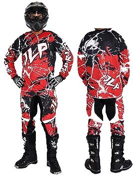 JLP Racing - Traje de motocross para niño de 7 - 8 años, para quad ...