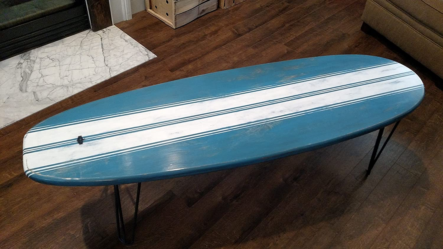 surfboard furniture. Surfboard Furniture. Amazon.com: Coffee Table Wooden Weathered Surf Furniture 5 Ft
