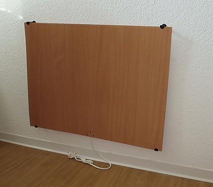 Panel de calefacción por infrarrojos de 250/500 W, calefacción eléctrica/por infrarrojos