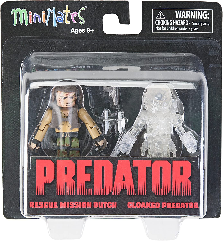 Predator Minimates Series 2 Rescue Mission Dutch /& Cloaked Predator