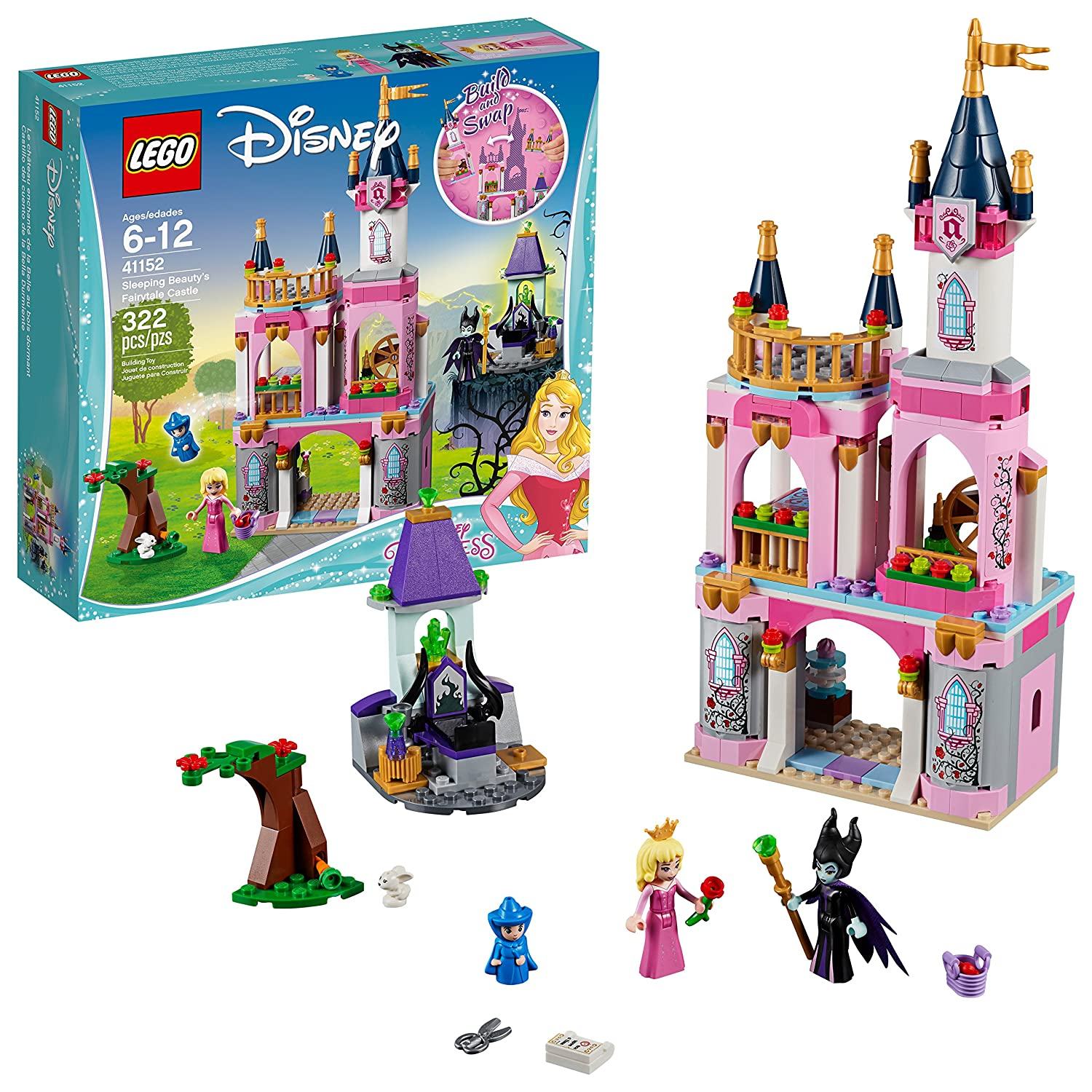 LEGO Disney Princess Sleeping Beauty's Fairytale Castle 41152 Building Kit