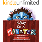 "Today I'm a Monster: Book on mothers love & acceptance. Great for teaching emotions, recognizing and accepting difficult feelings as anger & sadness. Best ... to say ""I love you"" to kid who misbehaved"