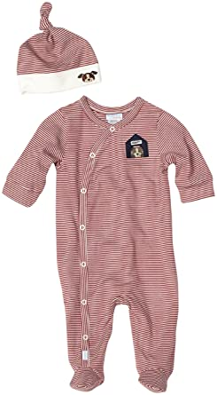 24f688cf1bee Amazon.com  Robeez Baby-Boys Newborn Scruffy 2 Piece Coverall and ...