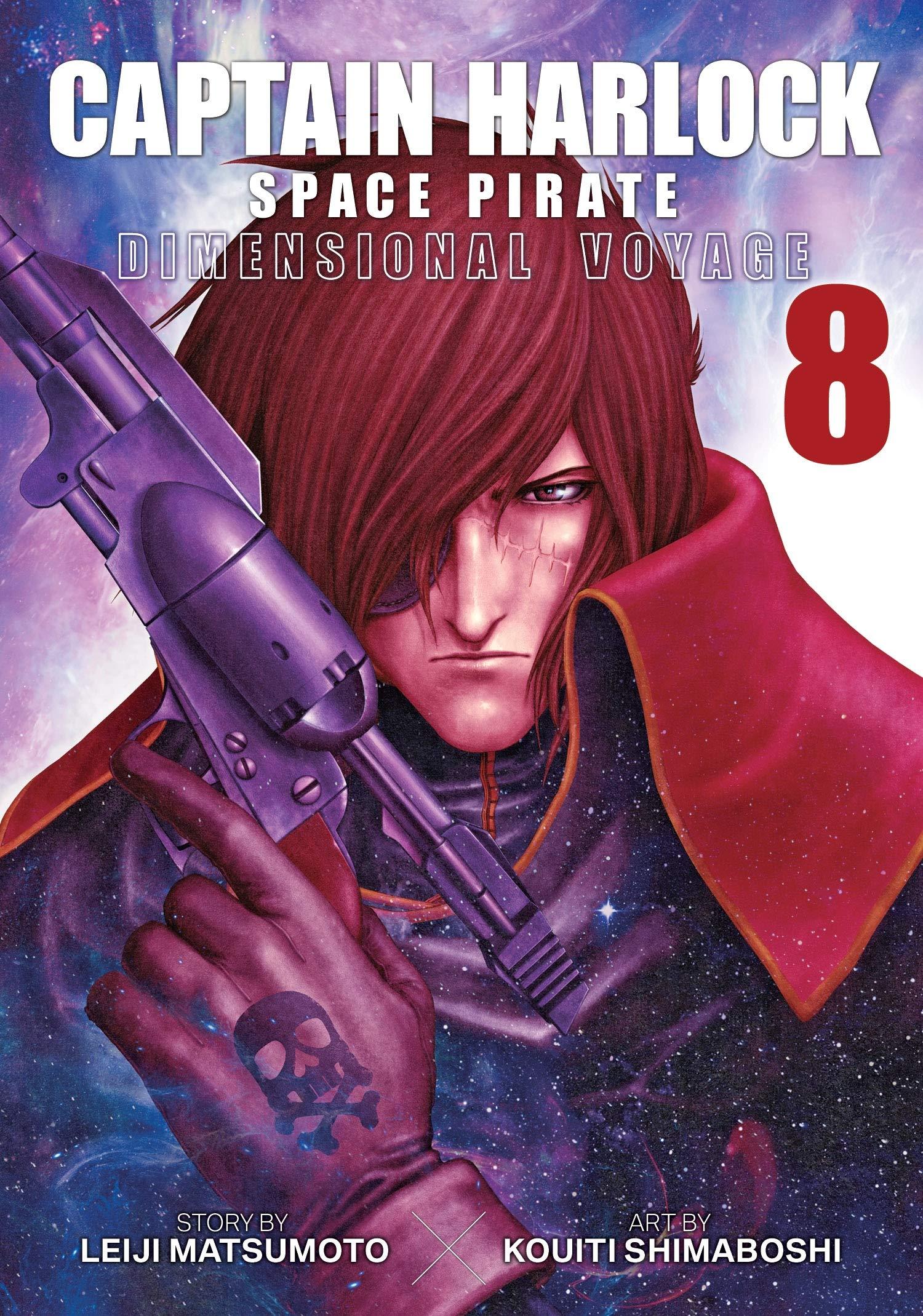 Captain Harlock Space Pirate 8: Dimensional Voyage: Amazon.it: Matsumoto,  Leiji, Shimaboshi, Kouiti: Libri in altre lingue