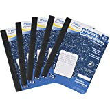 Mead Composition Books/Notebooks, Primary, Grades K-2, Wide Ruled Paper, 100 Sheets, 5 Pack (72900)