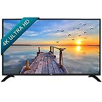 HKC 50B9A 50 pouces (127cm) 4K Ultra HD, Smart LED TV (DVB-T2 / T / C / S2 / S, H.265 HEVC, CI +, Mediaplayer via USB) Noir, classe énergétique A