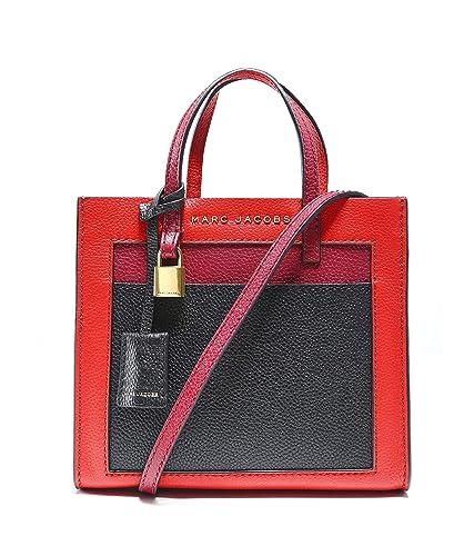 Marc Jacobs Femmes sac à bandoulière mini mouture couleur bloc Rouge Une  Taille b2f0f511c6b6