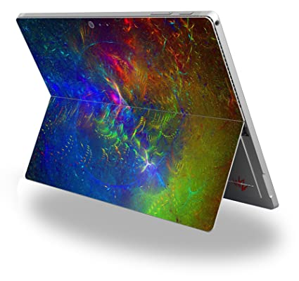 fireworks decal style vinyl skin fits microsoft surface pro 4 surface not included