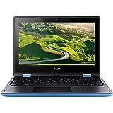 Acer Aspire R11 R3-131T-P71C 11.6-inch Laptop (Pentium N3710/4GB/500GB/Windows 10/Integrated Graphics), Blue