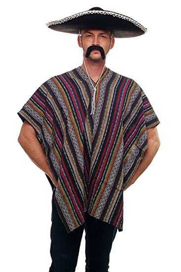 DRESS ME UP - Toller Poncho Mexikaner Mexiko Italo Western Cowboy ...