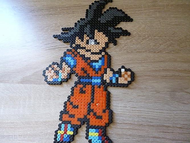 Sprite Goku Dragon Ball Hama Beads Pixel Art Amazonde Handmade