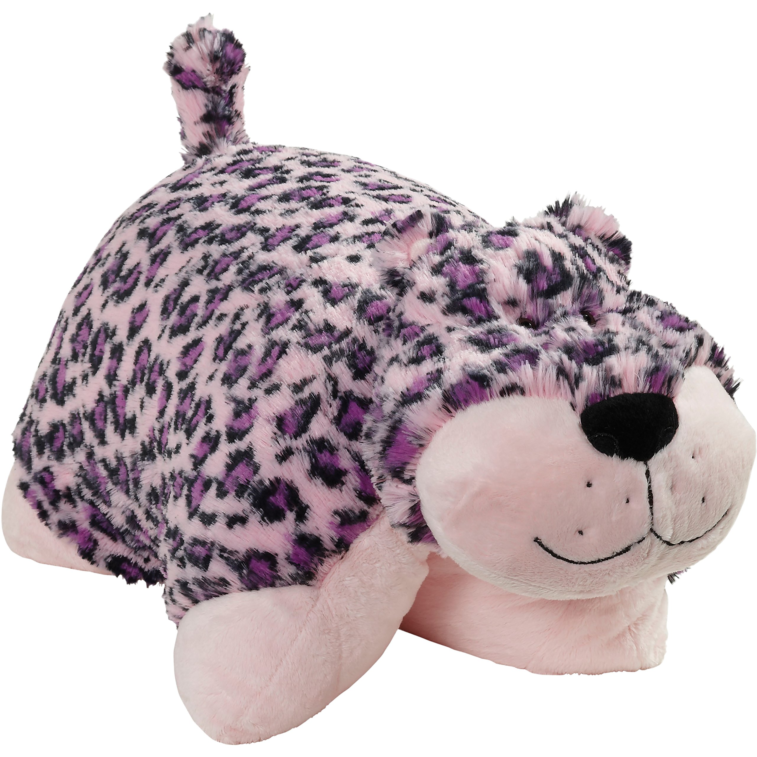 Pillow Pets Signature Stuffed Animal Plush Toy 18'', Lulu Leopard