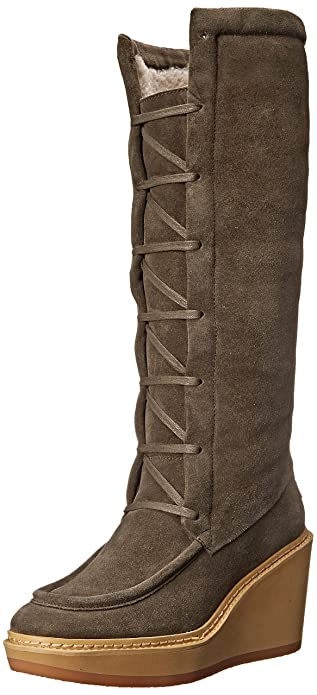 12f39b614bd See By Chloe Women's Tall Wedge Shearling Boot