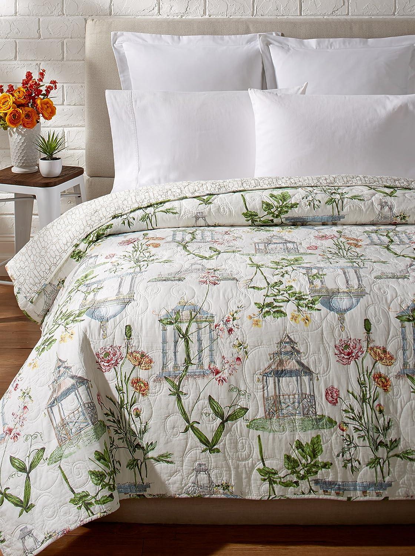 C&F Home 66X86 Twin Quilt, Garden Folly
