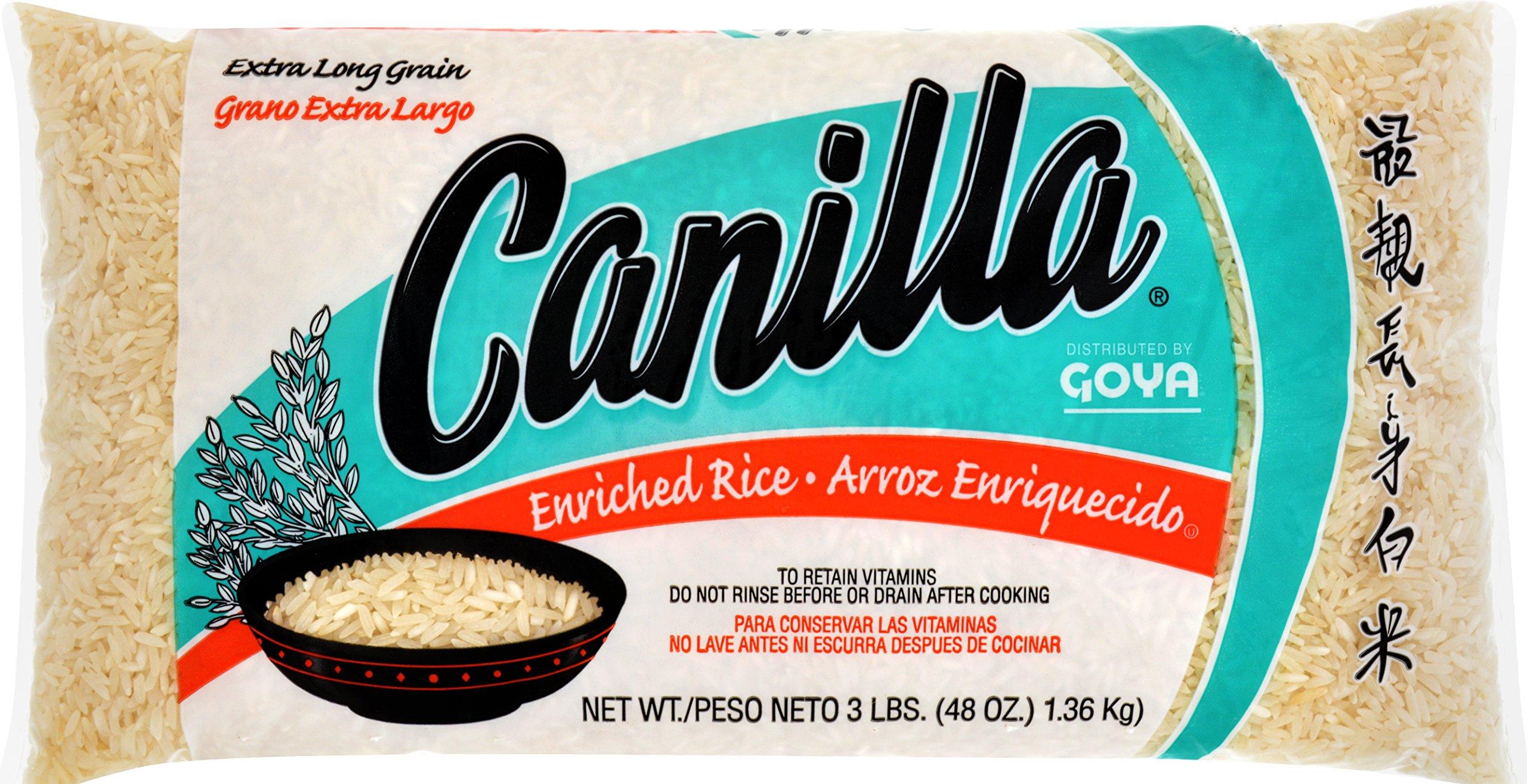 Goya Canilla Long Grain Rice, 3 pounds