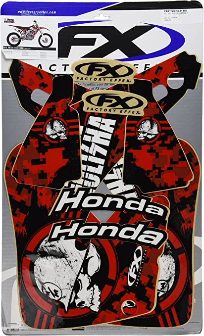 Factory Effex 18-01126 Shroud//Airbox Graphic Kit