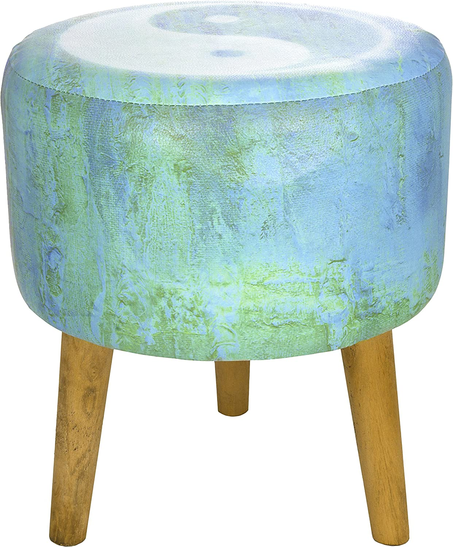ORIENTAL Furniture Yin Yang Stool