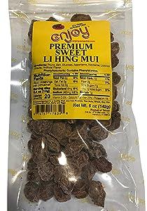 Enjoy Hawaii Premium Sweet Li Hing Mui Dried Plums