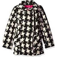 Urban Republic Little Girls' Favorite Wool Coat, Houndstooth, 5/6