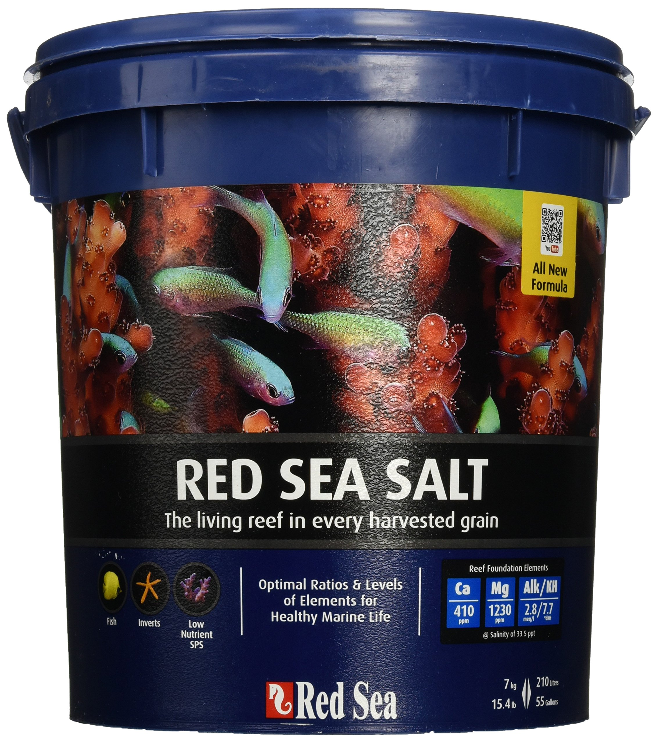 Red Sea Salt Mix for Aquariums 15 Lb by Red Sea