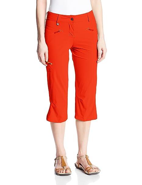df8cd4dcb04b Amazon.com   Salomon Women s Wayfarer Capri   Hiking Pants   Clothing