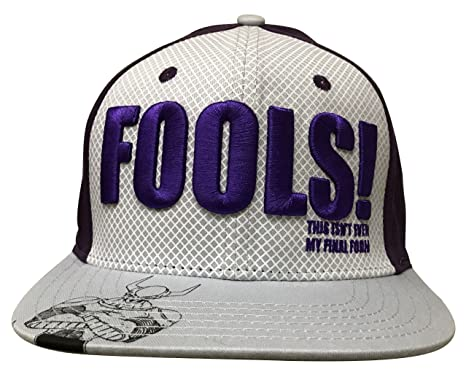 Image Unavailable. Image not available for. Color  Dragonball Z Frieza  Fools Snaback Hat ... 05271b74f4a2
